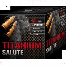 Stobru bloks, baterija, salūts ''TITANIUM SALUTE'' PXB2113
