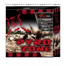 "Stobru bloks, baterija, salūts ""PYRO ZONE"" PXB2119"