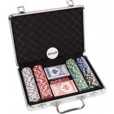 Pokera žetonu komplekts 200