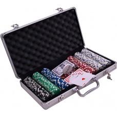 Pokera žetonu komplekts 300