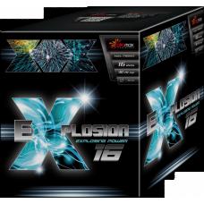 """Stobru bloks, baterija, salūts """"EXPLOSION 16"""" PXB2103"""
